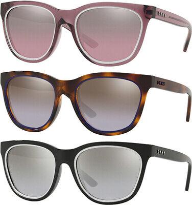 DKNY Women's Modified Cat-Eye Sunglasses w/ Gradient Flash Lens - (Cheap Cat Eye Sunglasses)