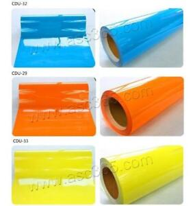 3yards PU Vinyl With 3colors Sticky Back for Heating Transfer Cutting Press T-shirts(002333)