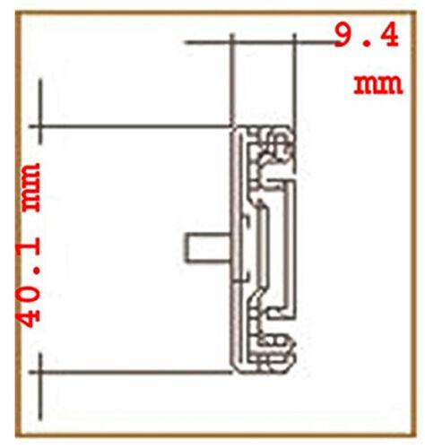 "KRI 26"" Universal Sliding Rails for 1U/2U/3U/4U Rackmount Chassis, NORCO OK"