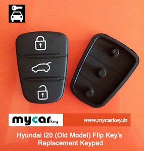 Hyundai-i20-Flip-keys-Replacement-KEYPAD-Lock-Unlock-Button-for-Old-Models
