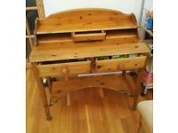Victoria pine ltd. Wooden writing desk