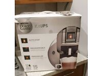 Nescafe Dolce gusto coffee machine with pods holder.