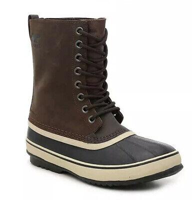 Sorel 1964 Mens Snow Boots waterproof Size 10M Dark Brown - NEW! Best (Best Waterproof Casual Boots)