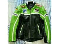 Excellent leather Motorcycle jacket XS