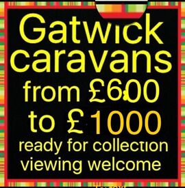 We have 10 Caravan in stock all for under £1000