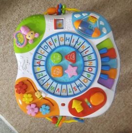 Music activity table