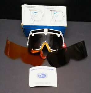 Ski / Snowboard Goggles with 3 Interchangeable Lenses