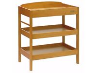 East Coast Baby Changing Table - Nursery Clara Dresser Unit and Pad