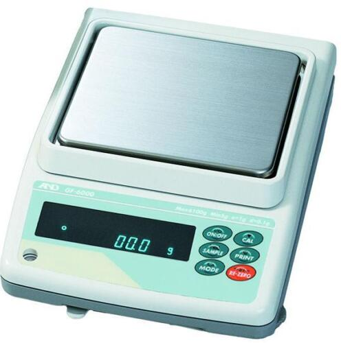A&D GF-2000 Precision Lab Balance, Compact Jewelry Scale 2100g X 0.01g, NEW