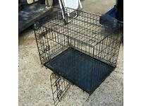 Dog transportation cage lovely condition folds flat