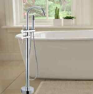 Freestanding Bath Mixer Tap Spa Spout/Handheld Spray Shower Fauce Redland Bay Redland Area Preview