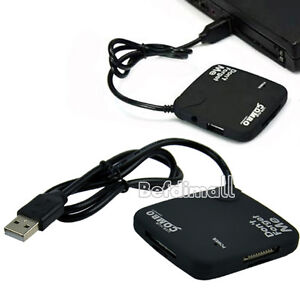 Hot 3 Ports USB 2.0 HUB with Multi-card Reader Combo For SD/MS/M2/TF BE0D