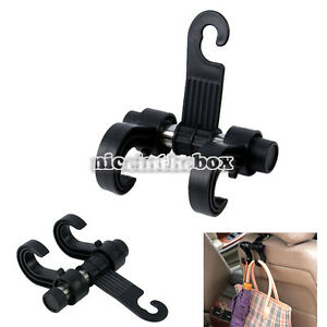 Black-Car-Hanger-Auto-bBags-Organizer-Hook-Accessory-Clothes-Hanging-Holder-N98B