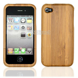 Bamboo-Wood-Hard-Back-Case-Cover-Protector-for-iPhone-4-4S-New-Hot-Sale