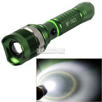 1800LM Zoomable 12W CREE XM-L T6 LED 18650 Flashlight Torch