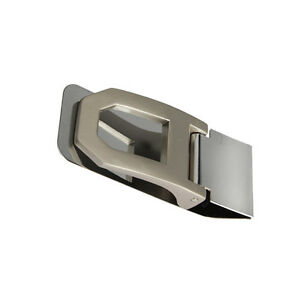 Pocket-Slim-Stainless-Steel-Cash-Money-Clamp-Clip-Credit-Card-Wallet-Holder