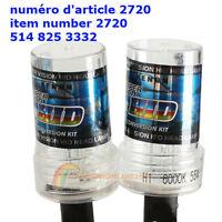 2pcs 55W H1 6000K Xenon HID Head Light Bulb Car Xenon Replacemen
