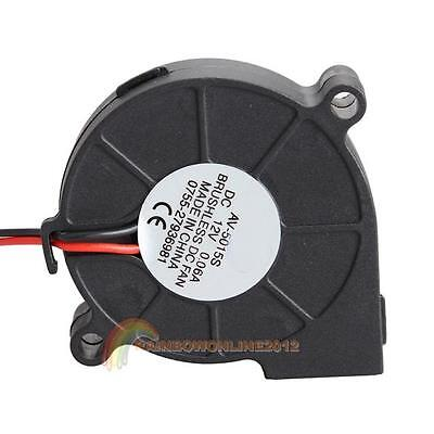 Brushless Dc 12v006a Cooling Blower Fan 50mm Exhaust Fans 50mmx15mm 15-30 Cfm