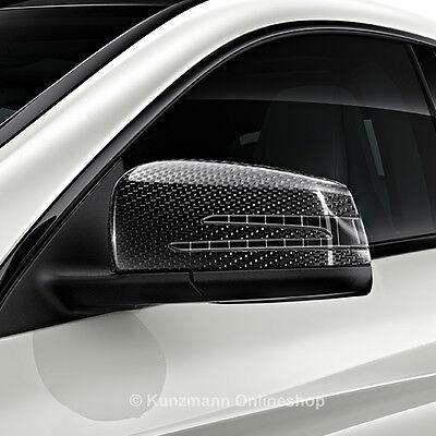 Carbon-Style Spiegelkappen Abdeckungen Gehäuse Original Mercedes-Benz Sport NEU