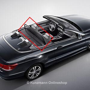 original mercedes benz windschott e klasse cabrio a207. Black Bedroom Furniture Sets. Home Design Ideas
