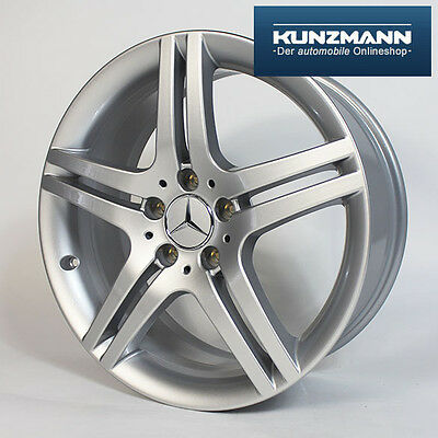 Original Mercedes-Benz Felge W203 W209 R171 CLC CLK SLK 18 Zoll silber  online kaufen