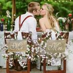 Mr & Mrs Slinger - Bruiloft Decoratie (Feestartikelen)