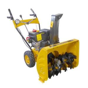 "Brand New 24"" Two Stage 7HP 212CC Gas Snow Blower"