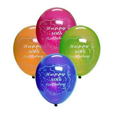 90th Birthday Party (Age 90) ASSORTED COLORS LATEX BALLOONS](90th Birthday Balloons)