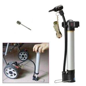 "Mini-pompe à air portative 23cm (9""), + pin à ballons, pneus VVV"