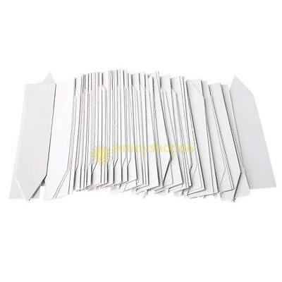 100Pcs Garden Plant Pot Markers Plastic Stake Tags N0A9 Seed Nursery I8G3 I9C3