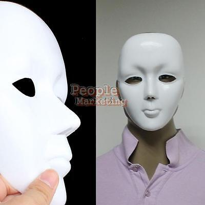Scary Face Halloween Masquerade DIY Mime Mask Ball Party Cosplay Costume - Scary Halloween Costumes Diy