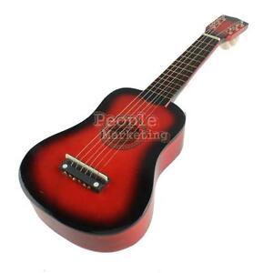 21 Inch Red Ukulele Guitar Cheap Uke Small Guitar Musical Instrument Children