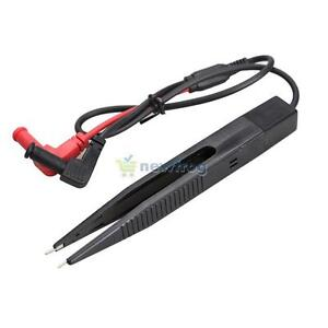 SN9F SMD Inductor Test Clip Probe Tweezers for Resistor Multimeter Capacitor