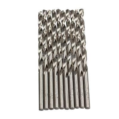 g 10PCS 3mm Micro HSS Straigt Twist Drilling Auger Bit for Electrical Drill New
