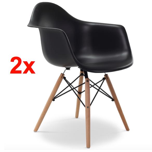 2x st hle esstischstuhl stuhl esszimmerstuhl b rostuhl for Designklassiker stuhl holz