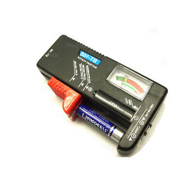 Universal Battery Tester Checker AA AAA 9V Rectangular And Button High Quality