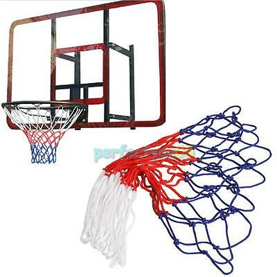 Replacement Basketball Net Heavy Duty Nylon Hoop Goal Rim Indoor Outdoor 39cm