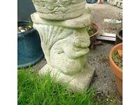 masonry garden or patio planter or pot stand