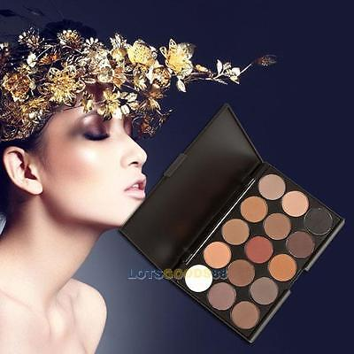15 Colors Cosmetic Matte Eyeshadow Cream Eye Shadow Makeup Palette Shimmer Set