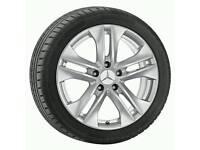 Mercedes Benz winter alloy wheel set