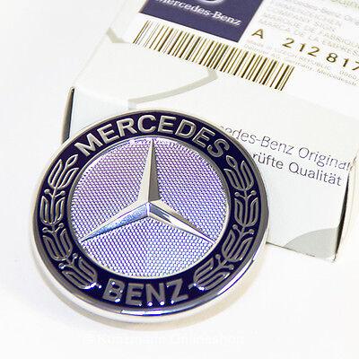 Original Mercedes-Benz Emblem mit Stern Motorhaube W205 W212  A2128170316 NEU