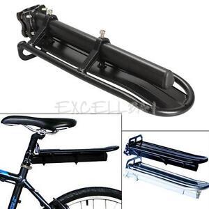 Rear-Carrier-Rack-Seat-Shelf-Mountain-Cycling-Bike-Road-Bicycle-Black-E0Xc