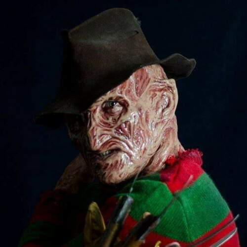 Freddy Krueger Dream Warriors Fedora Nightmare on Elm Street Mask Glove Sweater