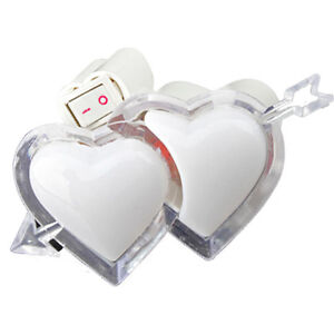 Double Heart Night Light