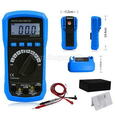 Auto Measurement Lcd Digital Multimeter Volt Meter Ammeter Ohm Frequency Test