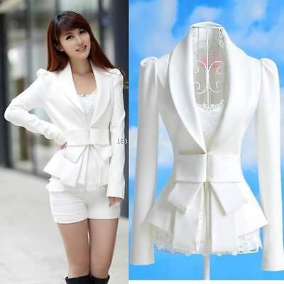 Elegant Fashion Women Slim Casual Business Blazer Suit Jacket Coat Outwear New