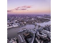 THE VIEW FROM THE SHARD - DISCOUNTED TICKETS - UP TO 40% OFF GATE PRICE - FLEXIBLE DATE & TIME