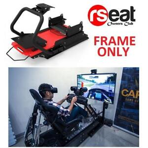 NEW* RSEAT S1 GAMING SEAT FRAME S1 221928773 RACING BLACK RED FRAME ONLY