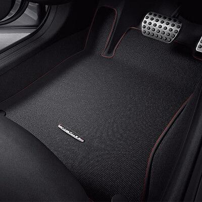 Original Mercedes-Benz Velours Fußmatten GLA X156 SPORTIV Satz schwarz rot NEU