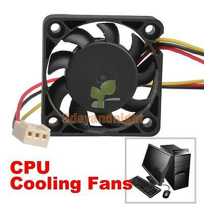 40mm Internal 3Pin Computer PC Coolant Cooling Cooler System Gaming Case Fan 4CM